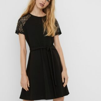 Černé šaty VERO MODA Jasmine