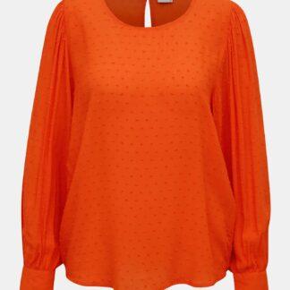 Oranžová volná halenka Jacqueline de Yong Malone