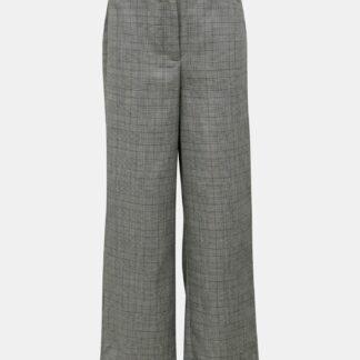 Šedé kostkované kalhoty Jacqueline de Yong Tara