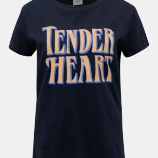 Tmavě modré tričko Jacqueline de Yong Brenda