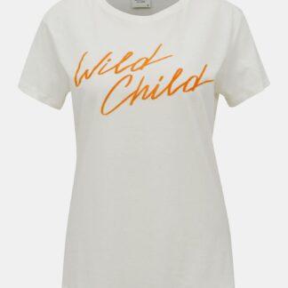 Bílé tričko Jacqueline de Yong Brenda