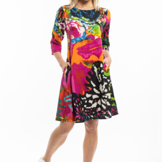 Orientique barevné šaty David