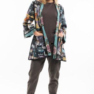 Orientique oboustranný kabát Da Vinci