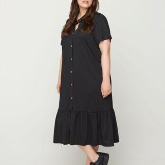 Zizzi černé košilové šaty