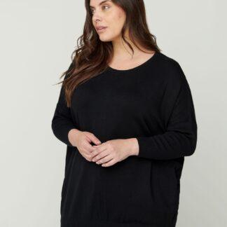 Zizzi černý lehký svetr