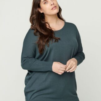 Zizzi šedý lehký svetr
