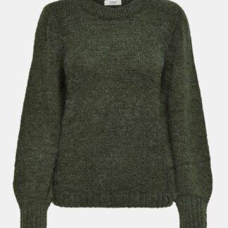 Tmavě zelený svetr Jacqueline de Yong Portman