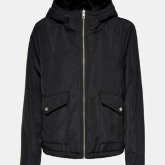 Černá zimní bunda ONLY Dahlia