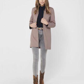 Starorůžový lehký kabát ONLY Penny