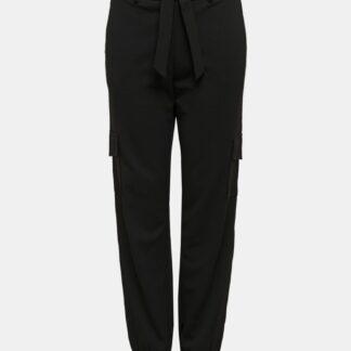 Černé kalhoty Jacqueline de Yong Catia