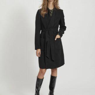 Černý lehký kabát VILA Apple