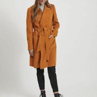 Oranžový lehký kabát VILA Apple