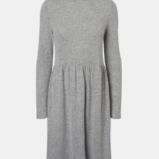 Šedé svetrové šaty Noisy May Alia