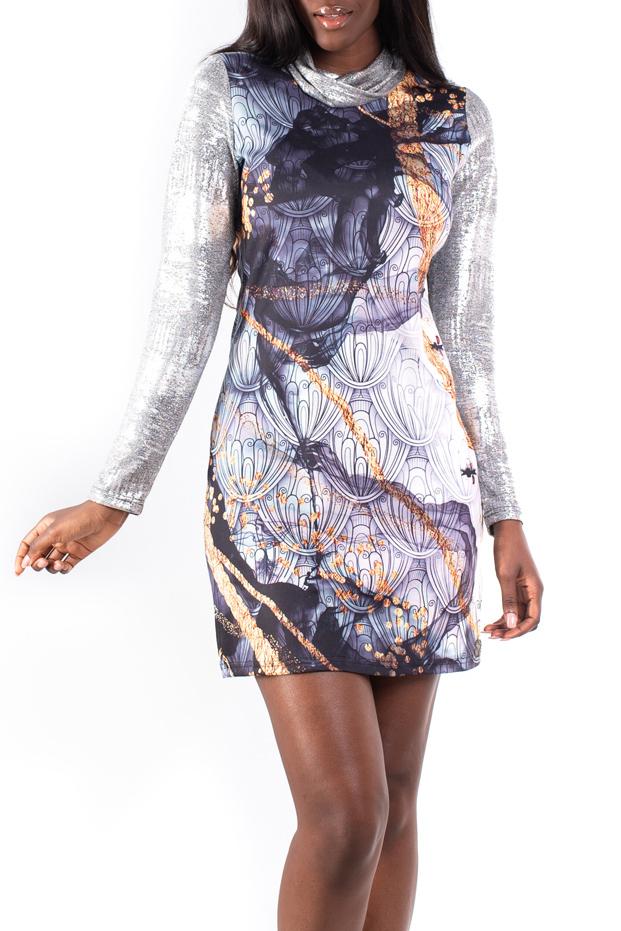Culito from Spain šaty Labrado s metalickými rukávy