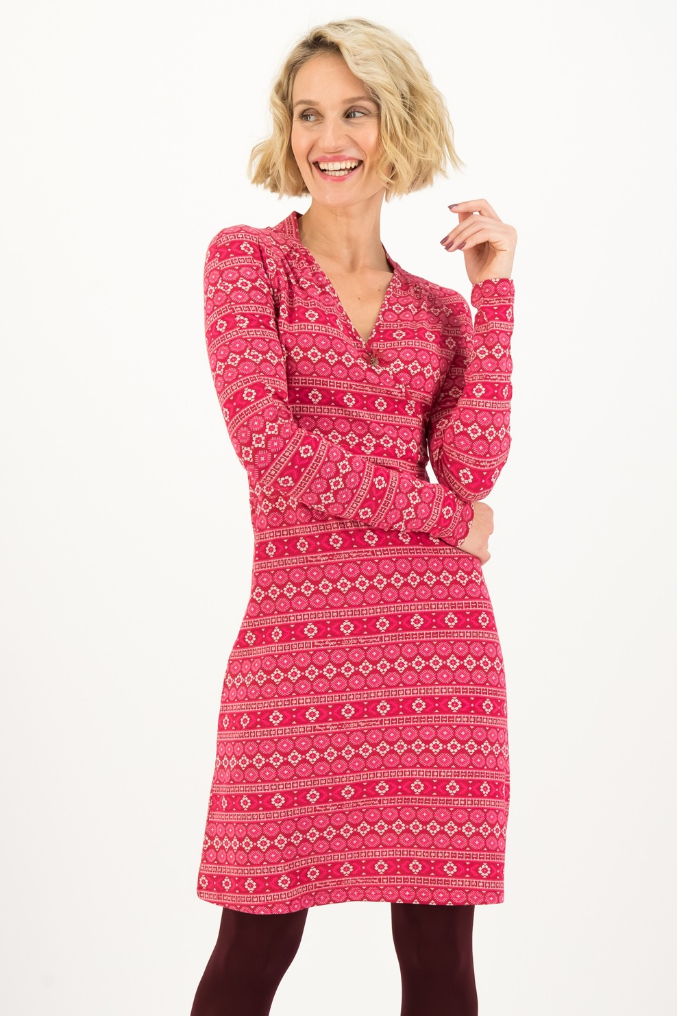 Blutsgeschwister růžové šaty Perfect In Every Way