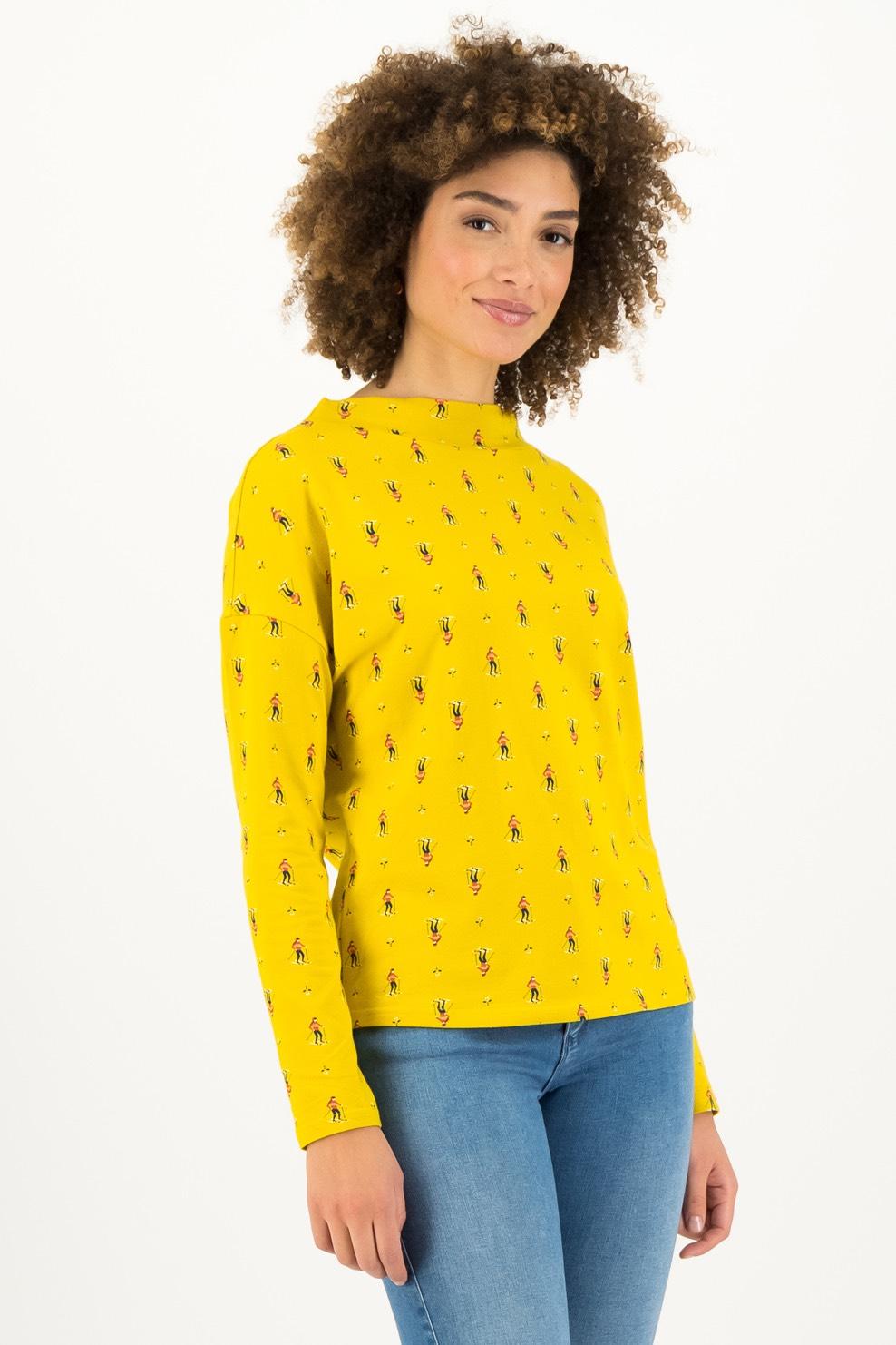 Blutsgeschwister žluté tričko Apres Ski