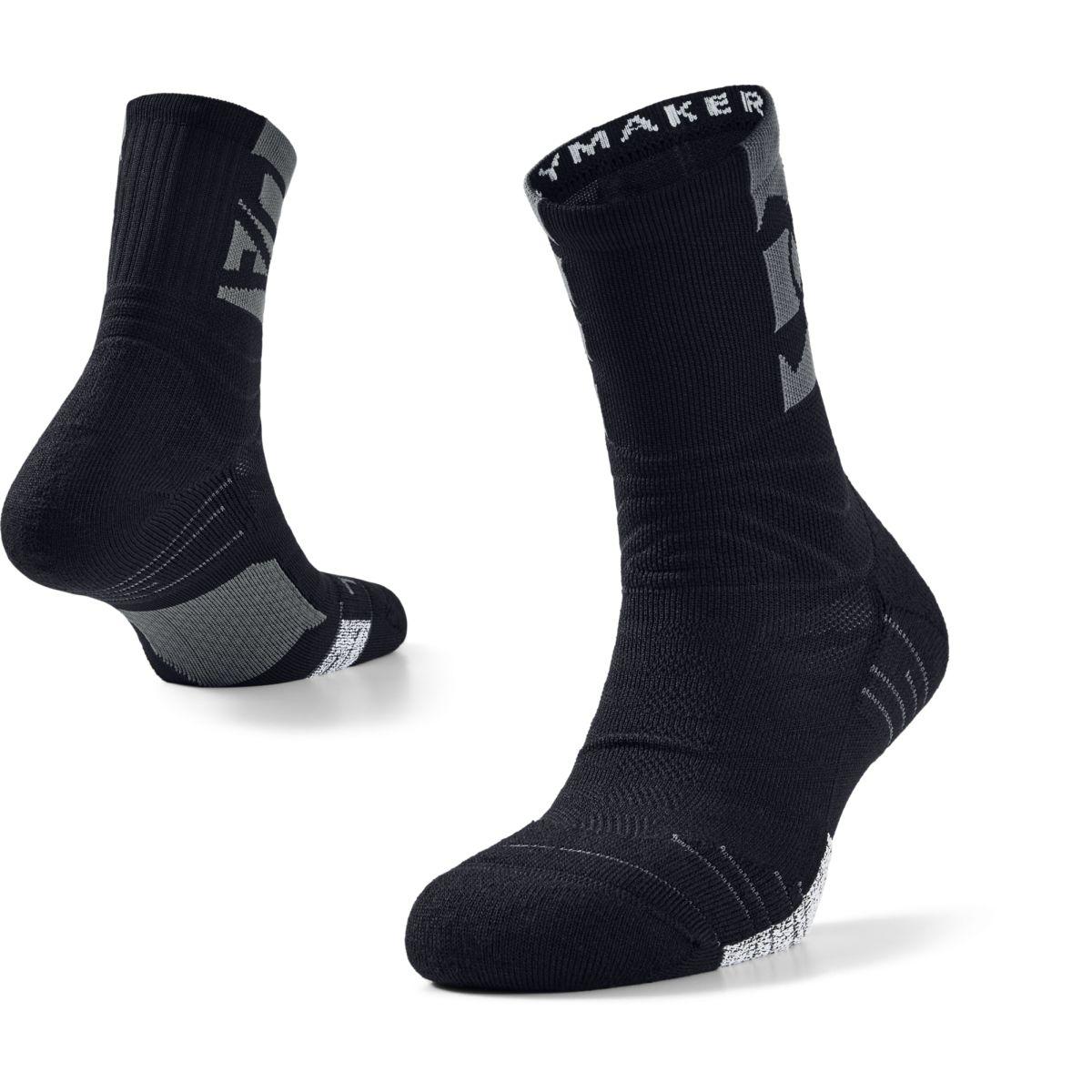 Ponožky Under Armour UA Playmaker Crew-BLK