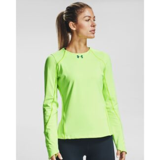 Tričko Under Armour CG Rush LS Crew-GRN