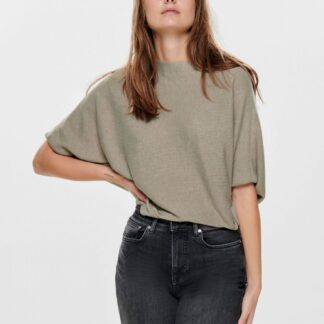 Béžový volný svetrový top Jacqueline de Yong