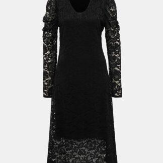 Černé krajkové midišaty Haily´s Silvie