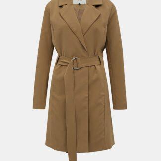 Světle hnědý lehký kabát Jacqueline de Yong Nella
