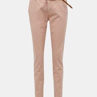 Světle růžové kalhoty VERO MODA