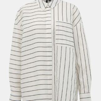 Bílá pruhovaná košile VERO MODA Hannnah