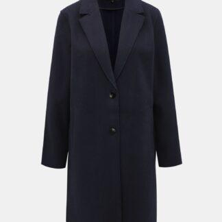Tmavě modrý kabát ONLY Carrie