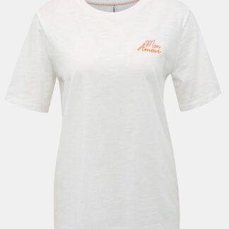 Bílé tričko ONLY Bone