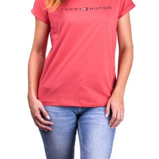 Tommy Hilfiger červené tričko RN Tee SS Logo