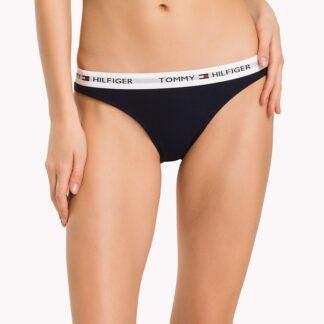 Tommy Hilfiger tmavě modré kalhotky Bikini Iconic Basic