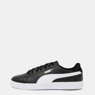 Puma černé kožené pánské tenisky