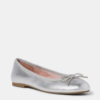 Tamaris stříbrné baleríny