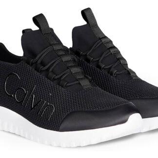 Calvin Klein černé pánské tenisky Runner Sneaker Laceup