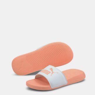 Puma oranžové pantofle