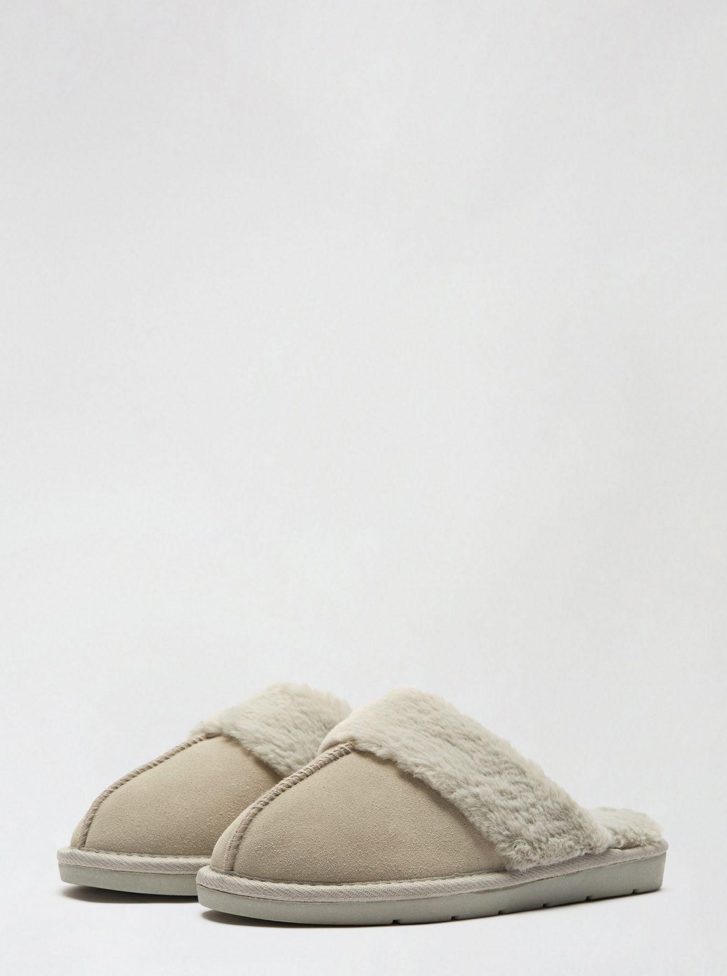 Dorothy Perkins béžové pantofle
