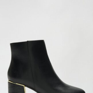 Dorothy Perkins černé kotníkové boty