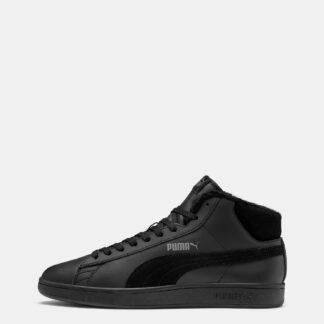 Puma černé pánské kožené tenisky