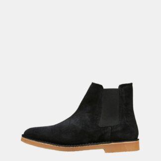Selected Homme černé pánské chelsea boty Royce