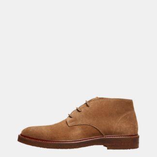 Selected Homme hnědé pánské boty kotníkové Luke