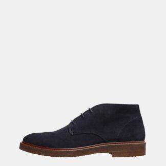 Selected Homme tmavě modré pánské boty kotníkové Luke