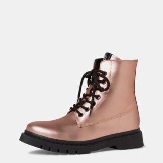 Tamaris růžové kotníkové boty