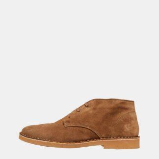 Selected Homme hnědé pánské boty kotníkové Royce