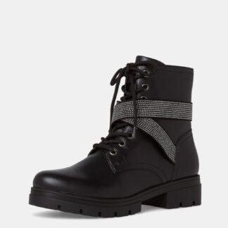 Tamaris černé kotníkové boty