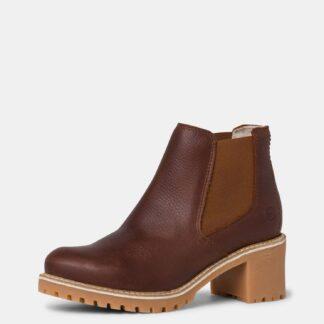 Tamaris hnědé kotníkové boty