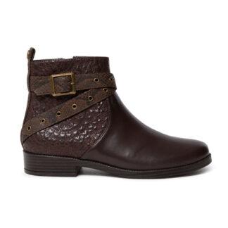 Desigual hnědé kotníkové boty Shoes Otawa Mandala