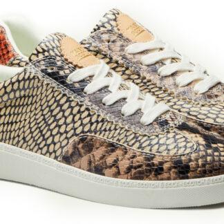 Scotch & Soda hnědé tenisky Laurite Sneaker Bro. Snake Optic