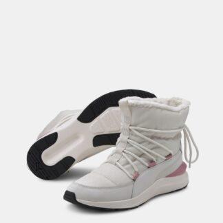 Krémové dámské zimní boty Puma Adela