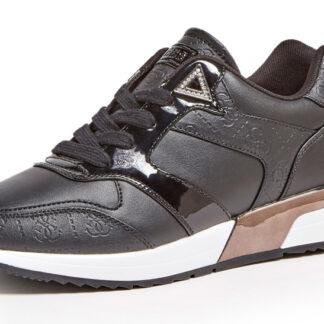 Guess černé tenisky Motiv 4G Logo Running Shoe
