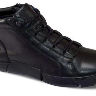 Lee Cooper černé pánské boty Black Unique